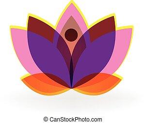 logo, lotus
