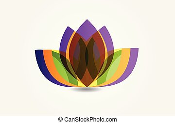 Logo lotus flower