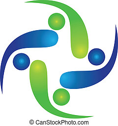 logo, mannschaft, swooshes