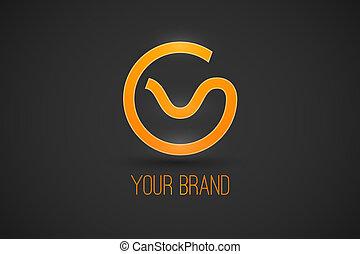 logo, marque, ton
