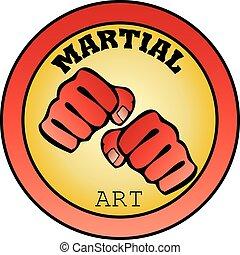 logo martial arts power fist mma - power fist MMA, KARATE,...