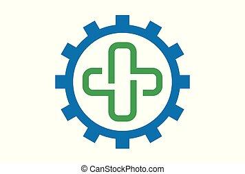 logo, medicinsk begreb, symbol, ikon