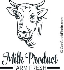 Logo milk product