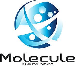 logo, molécule
