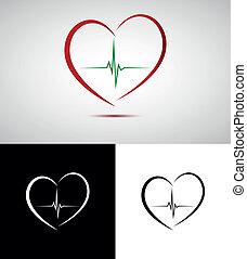 logo, monde médical