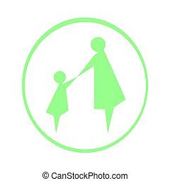 logo mother and child