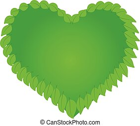 logo, natur, hälsa, hjärta