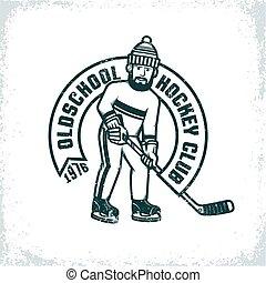 Logo of an amateur hockey club