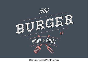 Logo of Burger bar