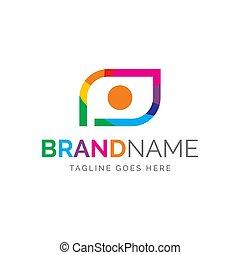 logo of camera and eye
