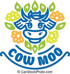 Logo of cow