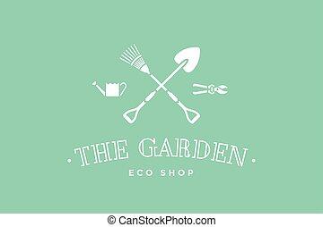 Logo of eco shop The Garden
