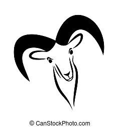 Logo of goat.