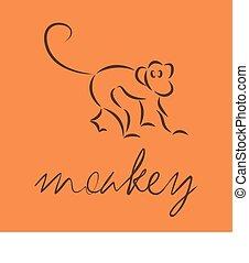 logo of monkey