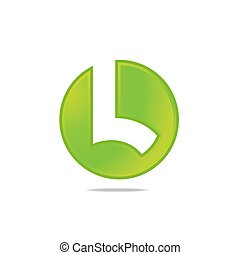 Logo of stylized Letter L Template.