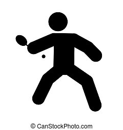 table tennis - logo of table tennis