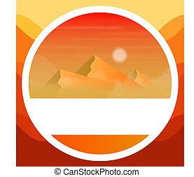 logo of the Egyptian mountains