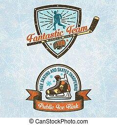 Logo of the hockey team