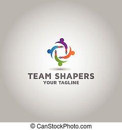 logo, opleiding, ontwerp, vector, leren, mal