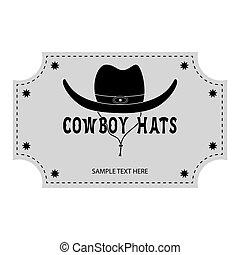 Logo or banner of cowboy hats