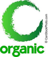 logo, organisk