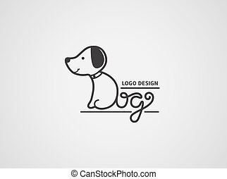 logo., perro