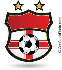 logo, piłka nożna
