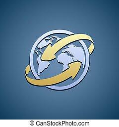 Logo Planet Earth