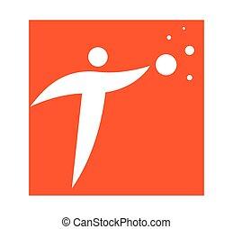 logo, pojęcie, osoba