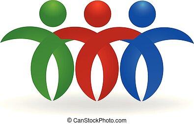 logo, pojęcie, przyjaźń
