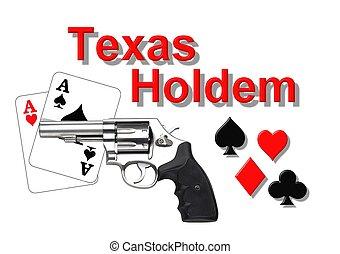 logo, poker, holdem, texas
