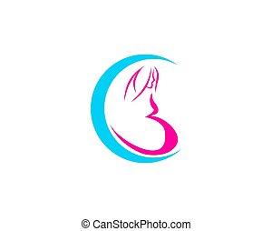 logo, pregnant