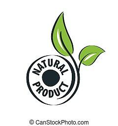 logo, product, natuurlijke