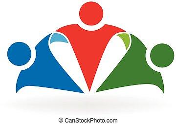 logo, przyjaźń