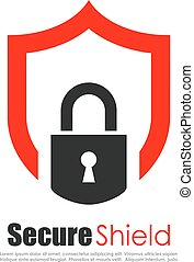 logo, résumé, protection, assurer