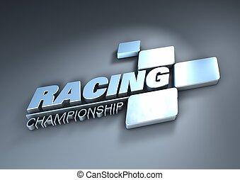 logo racing championship - Logo racing championship in...