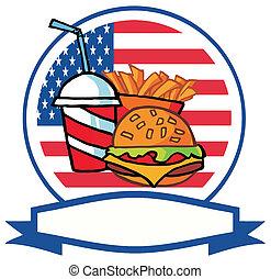 logo, restauration rapide