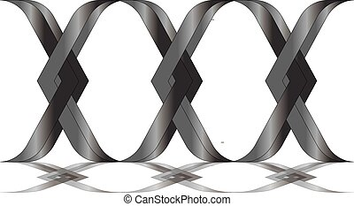 logo, ring, kreuz