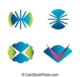 logo, sæt