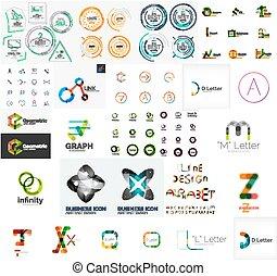 logo, sammlung