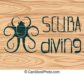 logo scuba diving