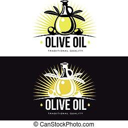 Logo Set about olive oil