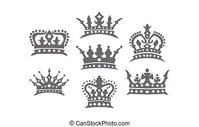 logo, set, kroon
