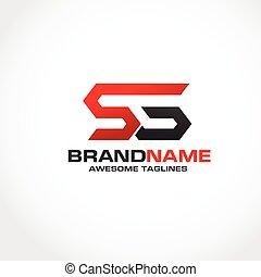 logo, sg, brief, creatief