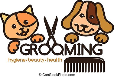 logo, soins personnels, animaux familiers