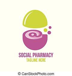 logo, sozial, apotheke
