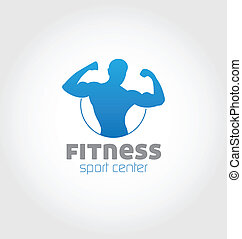 logo, sport, środek, stosowność