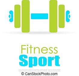 logo, sport, duelighed