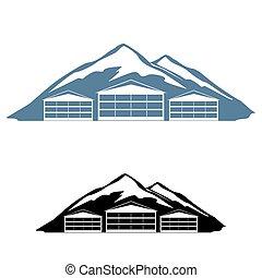 logo, station sports hiver