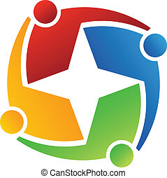 logo, stern 4, geschaeftswelt
